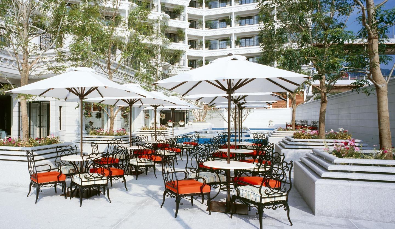 ホテル ラ・スイート神戸ハーバーランド ラウンジ&バー「グラン・ブルー」のガーデンテラス
