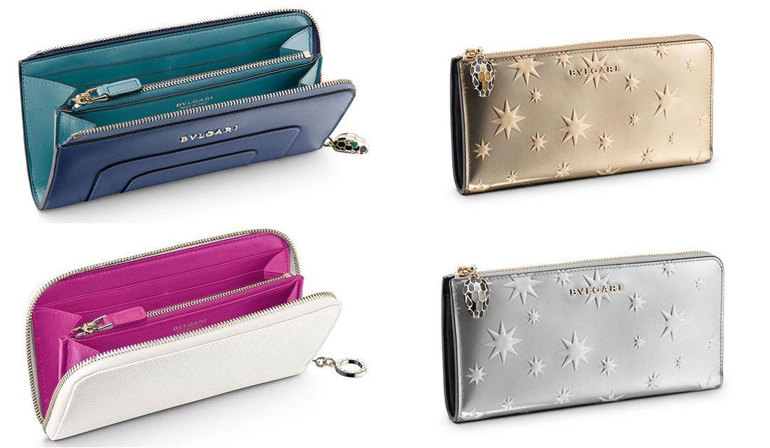 ブルガリの財布「セルペンティ」4種
