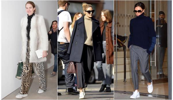 「白スニーカー」さえあればいい!ヒール靴よりもオシャレな足元スタイル3選