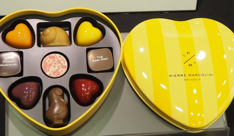 ピエール マルコリーニの「バレンタイン セレクション」