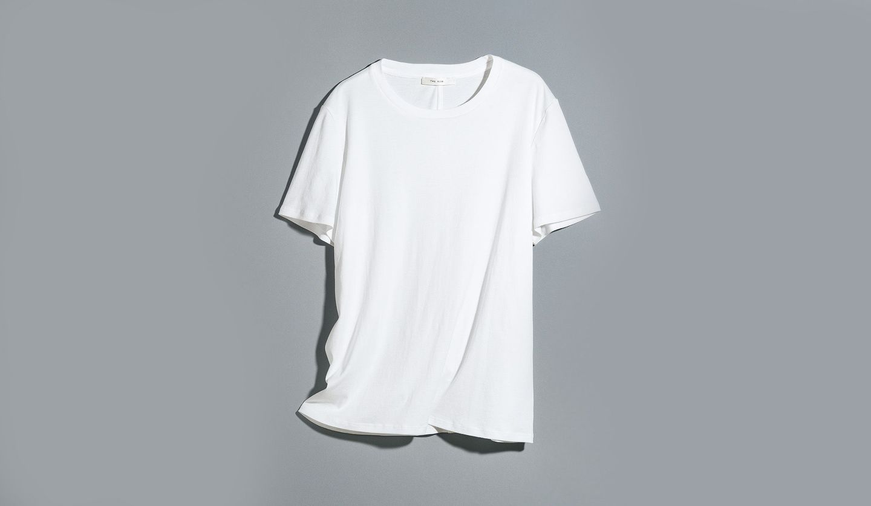 ザ・ロウの白Tシャツ