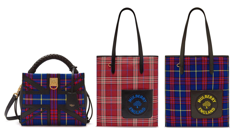マルベリーのアイリスバッグ、キャンバストート