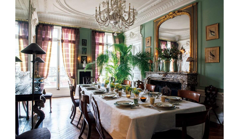 マリー・ダーシュさんの色とおもてなしの家