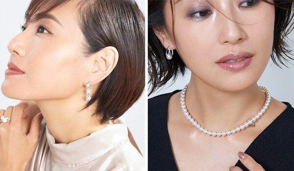 パールやダイヤモンド、メガネ…ファッション小物が似合う「大人の洗練メイク」6選