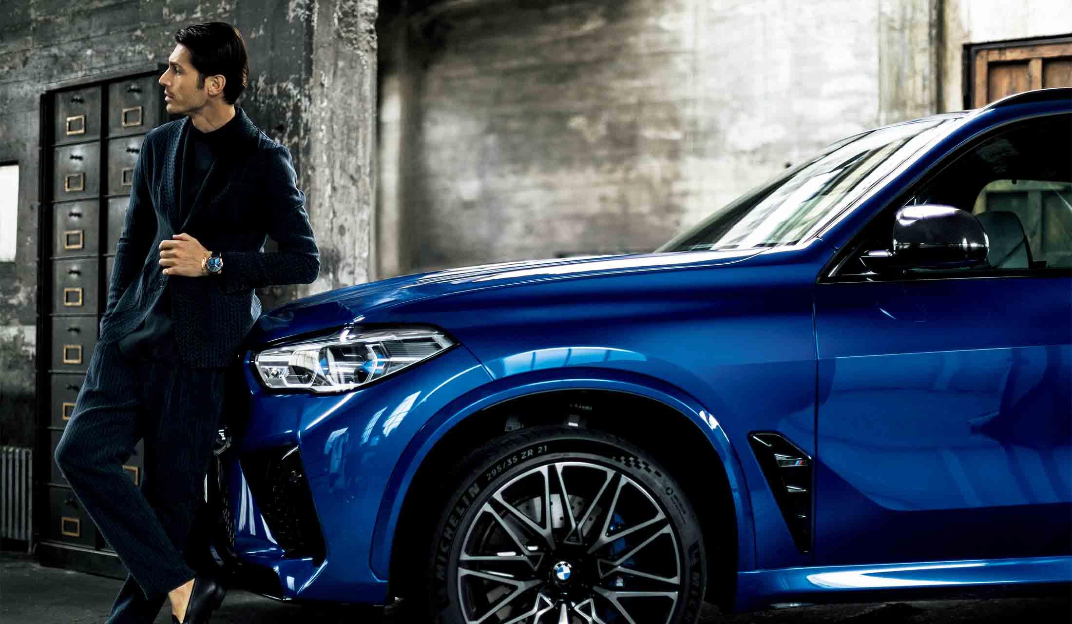BMWとIWC