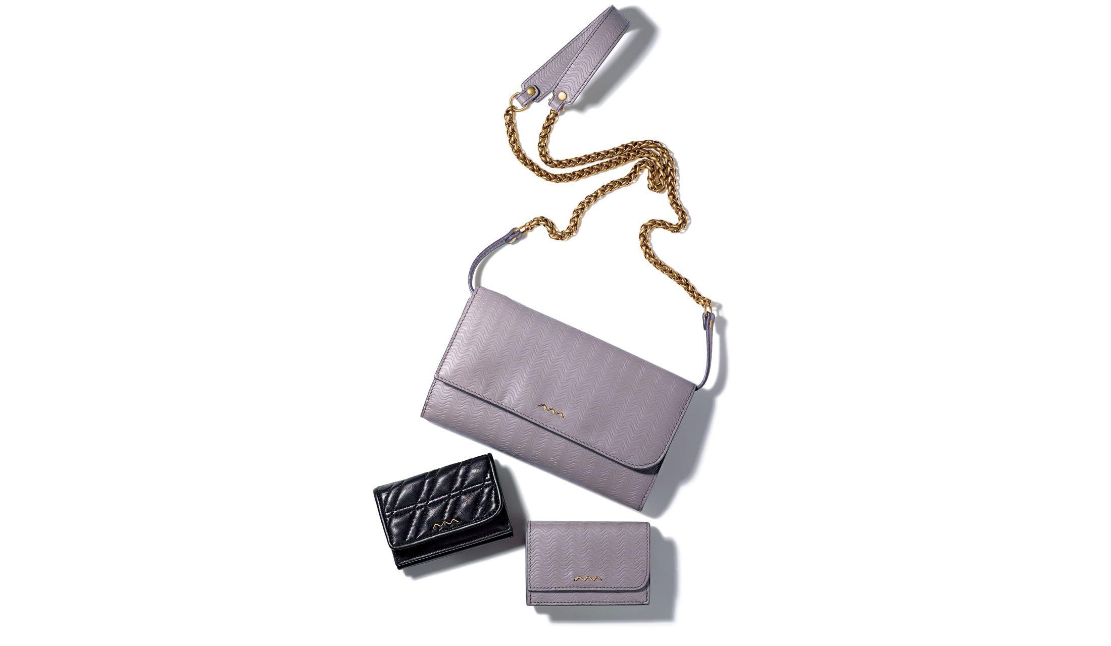 ザネラートのウォレットバッグ&ミニウォレット