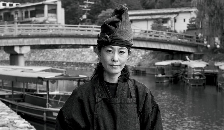宇治川の鵜飼・鵜匠の澤木万理子さん