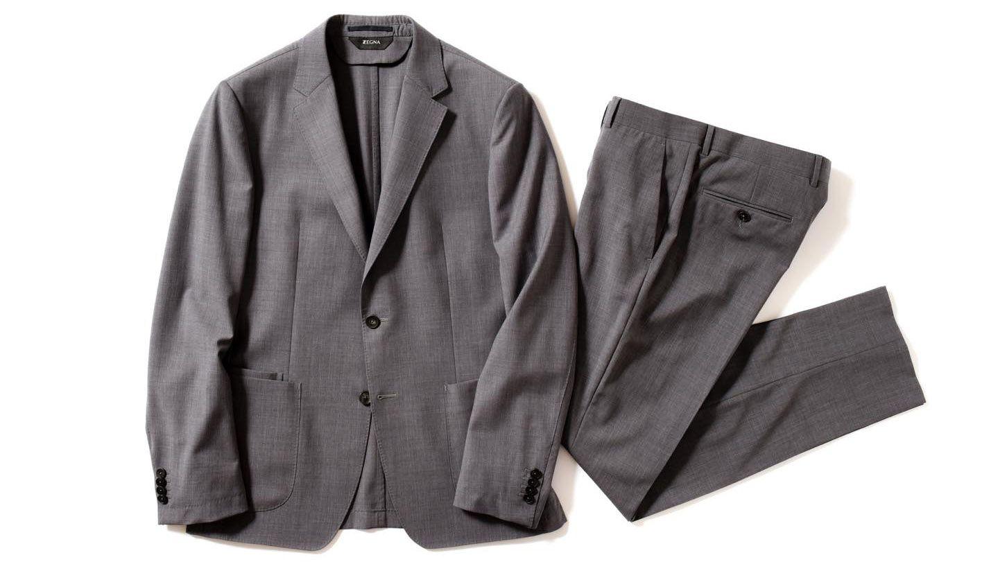 ジー ゼニアの洗えるスーツ
