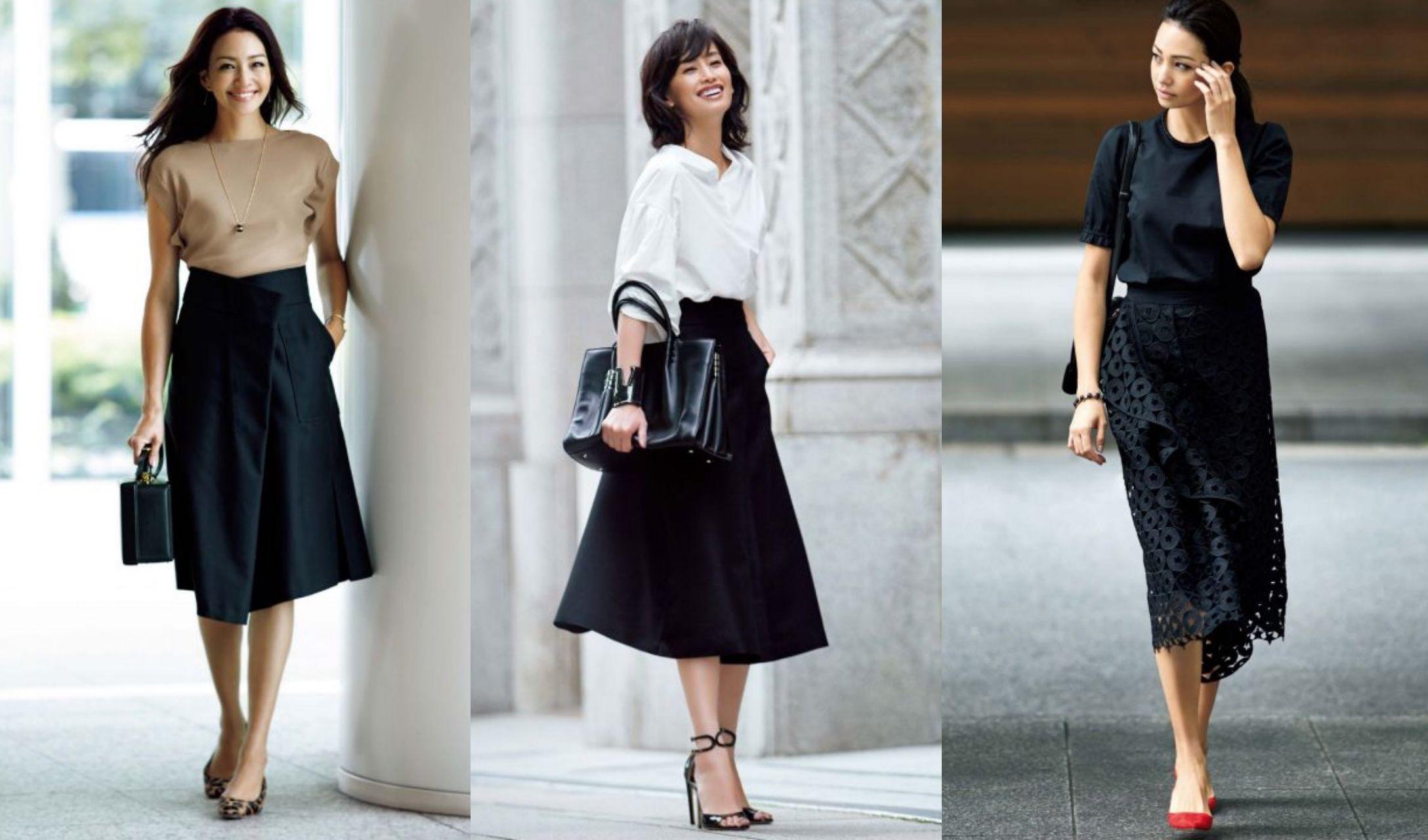 黒 ロング スカート コーデ 夏 黒のロングスカートを使った夏コーデ13選。着回し力高めが嬉しい!
