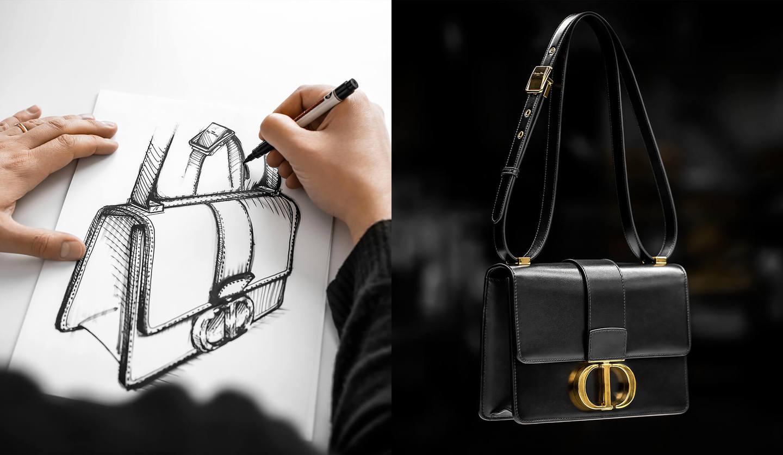 ディオールのバッグ「30 モンテーニュ」8種類