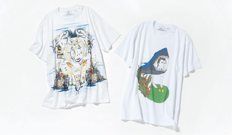 バーバリーのTシャツ2選