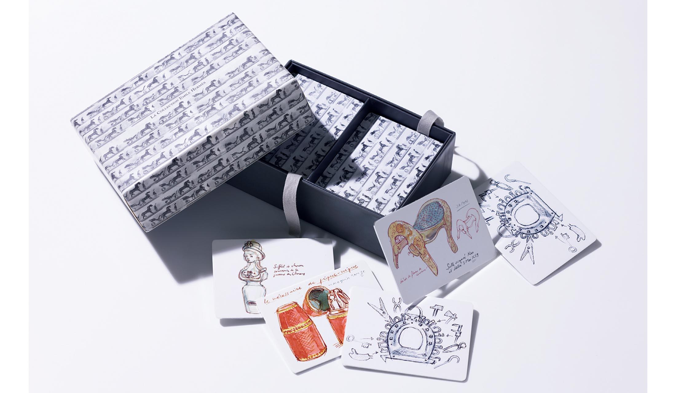エルメスのカードゲーム「メモリー」