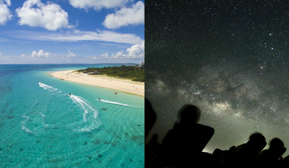"""""""東洋一美しい""""とも言われる「与那覇前浜ビーチ」と八重山諸島の満天の星空"""