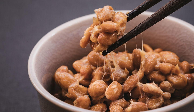 納豆とお箸