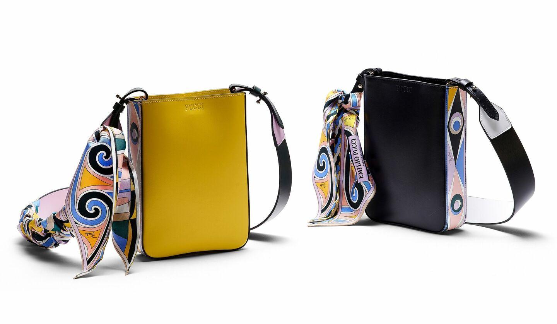 持つだけでハッピーな気分に。鮮やかなエミリオ・プッチの新作バッグ