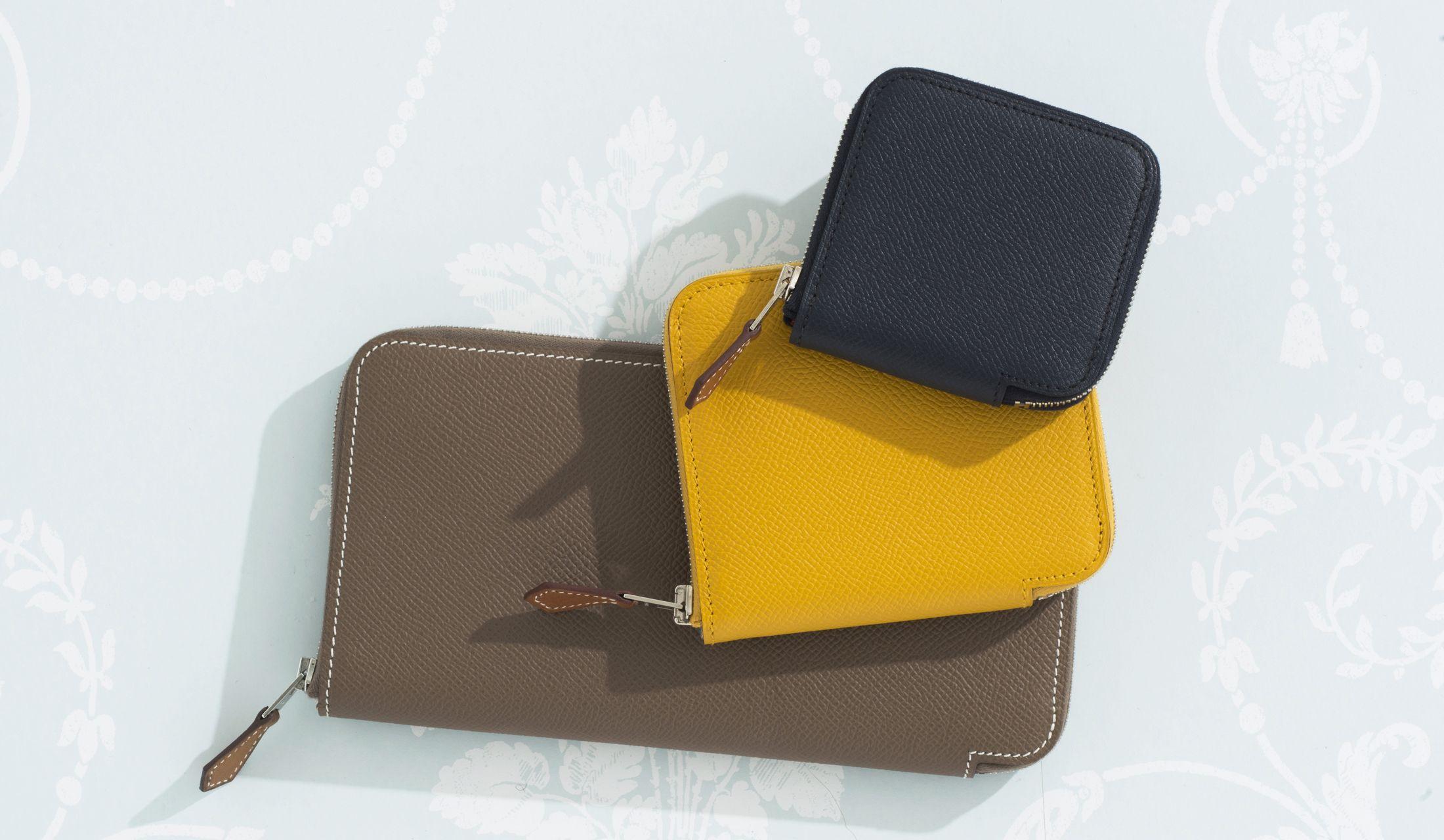 HERMÈS(エルメス)の「SILK IN(シルクイン)」の新作財布の写真