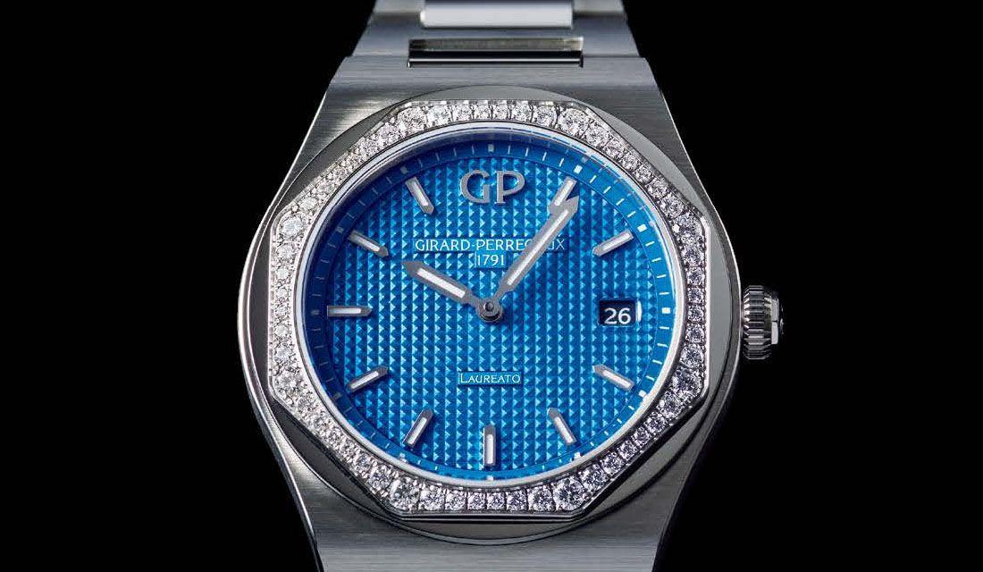 ジラール・ペルゴの時計『ロレアート?34㎜ ロイヤルティリミテッドエディション』
