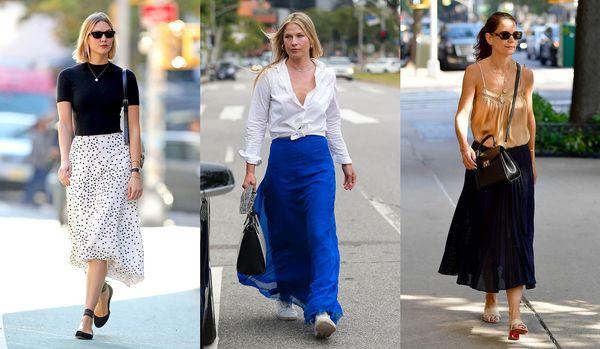 「ボリュームスカート」で絵になる夏スタイルが完成!海外セレブの夏の上品コーデ4選
