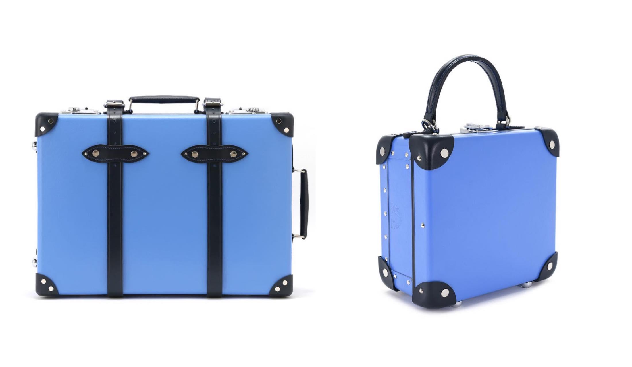 Globe -Trotter(グローブ・トロッター)のトロリーケースとバッグの写真