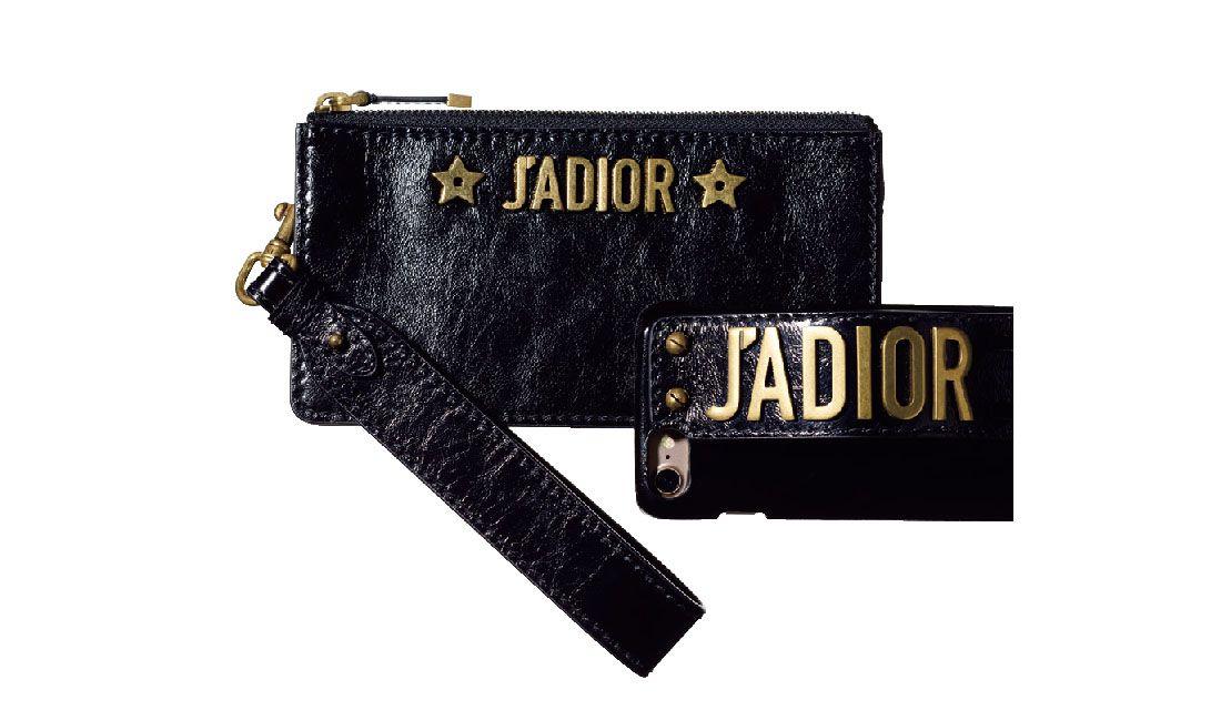 ディオールの新アイコン「J'ADIOR」のポーチ&iPhoneケース