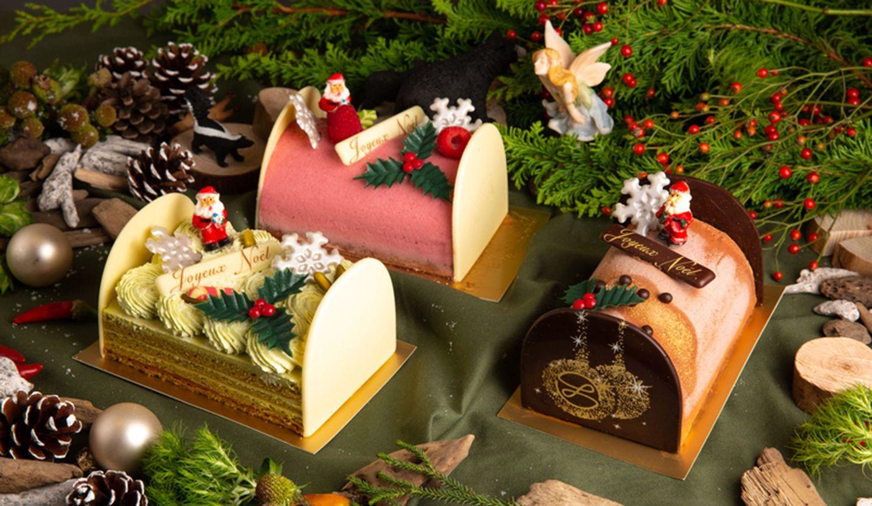 メゾン・ランドゥメンヌのクリスマス&エピファニー期間限定商品ブッシュ・ド・ノエル3種