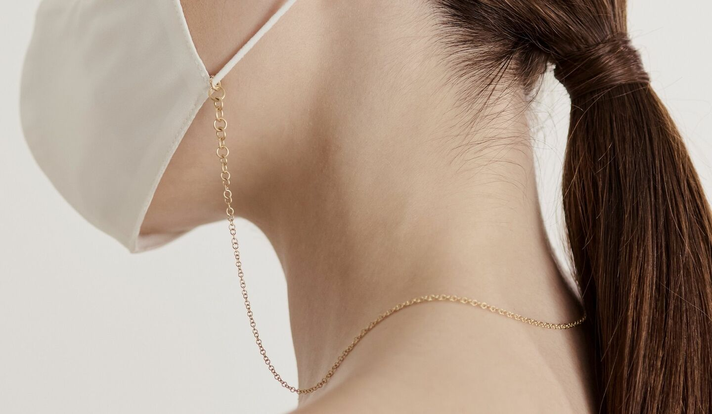「SHIHARA」の「Link Necklace 00」